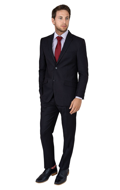 LONDON BLACK SLIM FIT SUIT