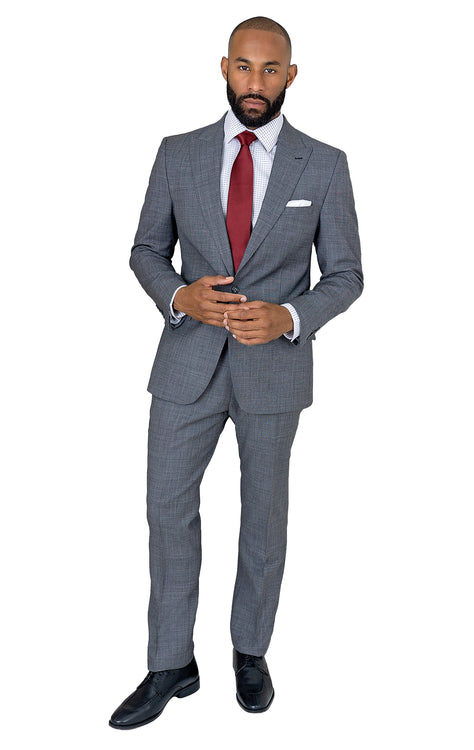 PICO GREY SLIM FIT SUIT