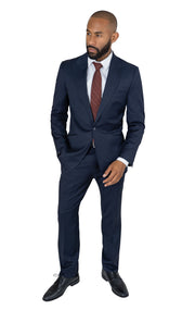 BELLANCA NAVY SLIM FIT SUIT