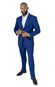 SEPULVEDA BLUE SLIM FIT SUIT
