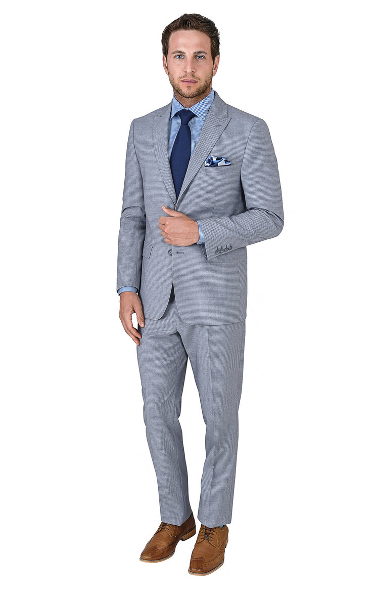 TRAVELER GREY SLIM FIT SUIT