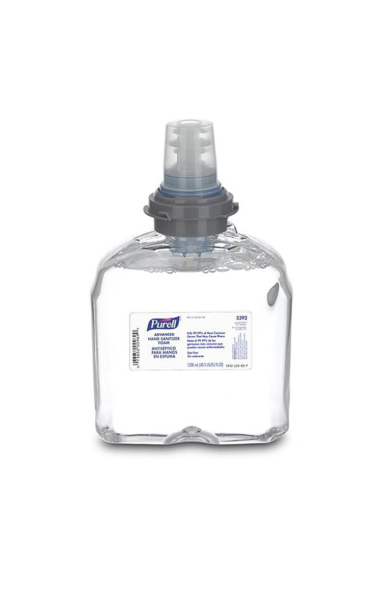 PURELL® Hand Sanitizer Refill 1200 mL Model FTX (May be foam or gel) - 2 Pack