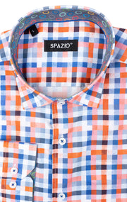 SPAZIO ORANGE SPORT SHIRT