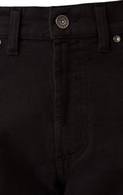 SIMCOX BLACK REG FIT BULL DENIM