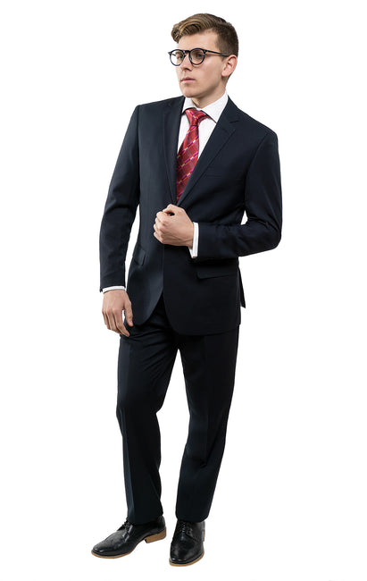 HENRY NAVY SLIM FIT SUIT
