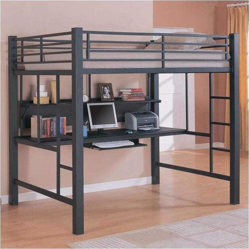 Full Metal Loft Bed