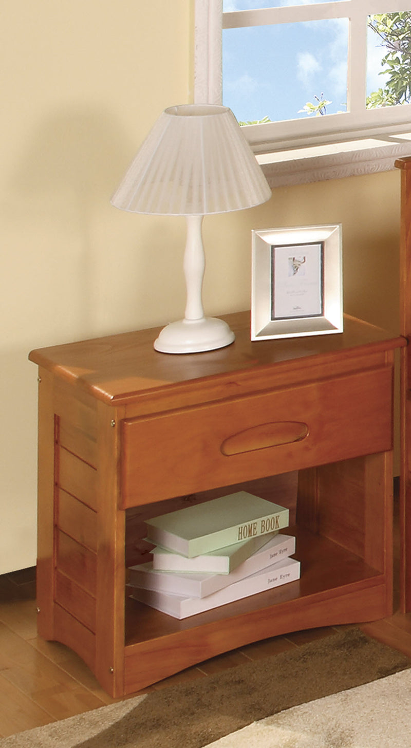 Nightstand in Pecan