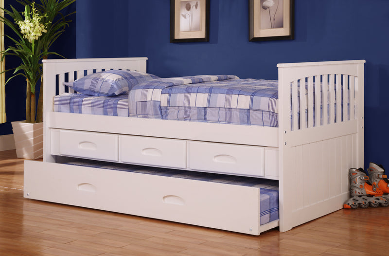 DS Twin Captain's or Captain's/Trundle Bed