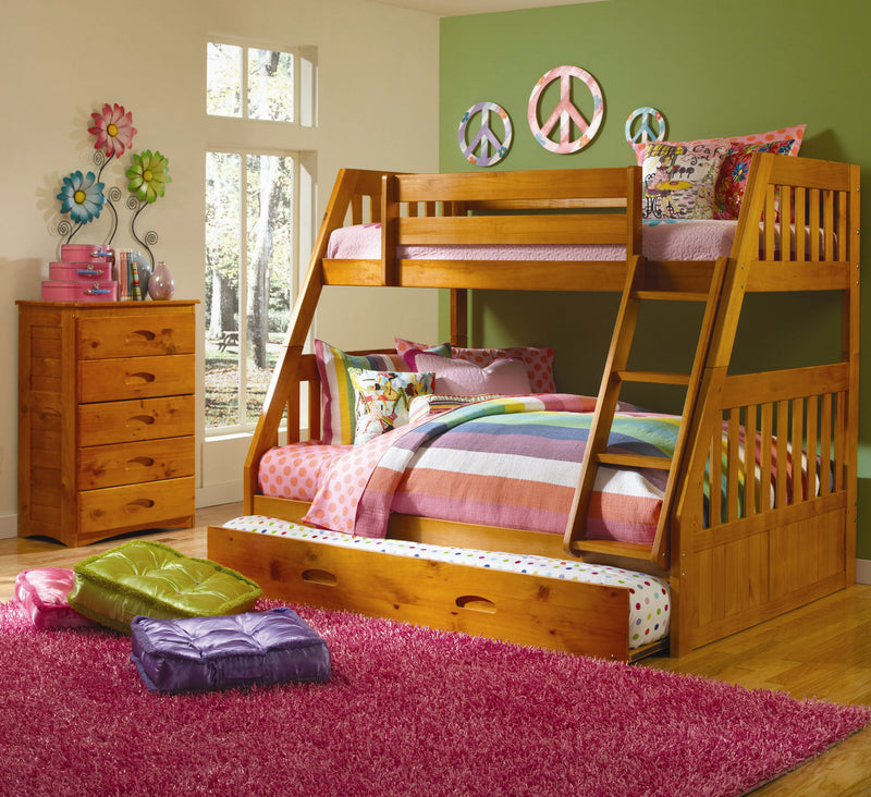 DS Twin/Full Bunk Bed