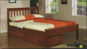 Full Size Platform Bed