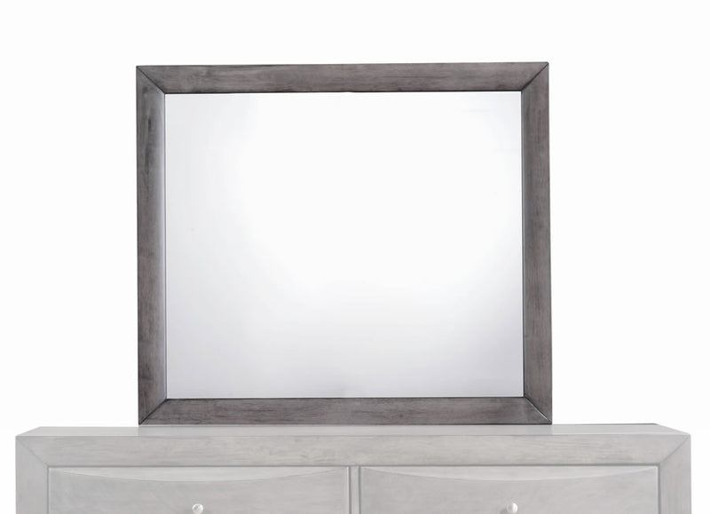 Grey Mirror for Dresser