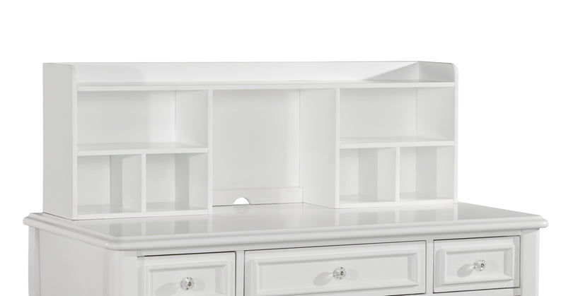 hutch for white desk