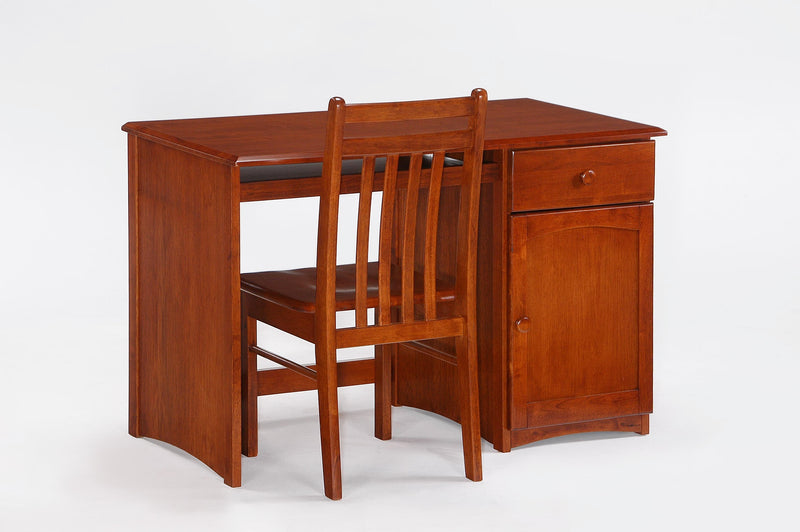 Desk with Chair in Cherry