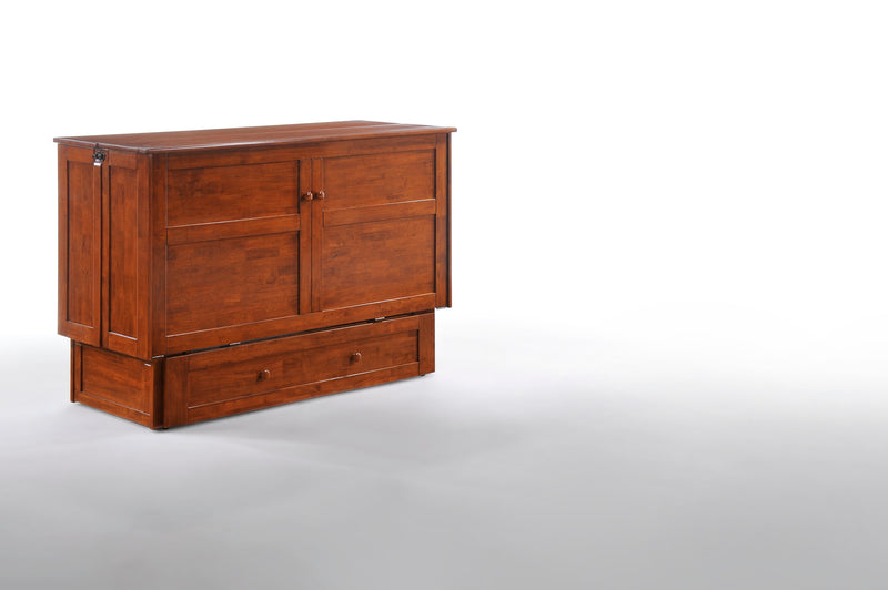 Queen Murphy Chest Bed in Cherry