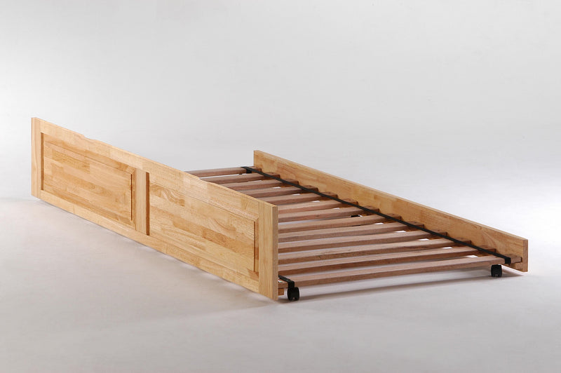 Optional Trundle Unit for Platform Bed in Natural