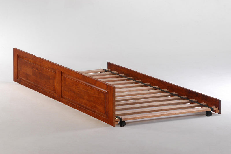 Optional Trundle Unit for Platform Bed in Cherry
