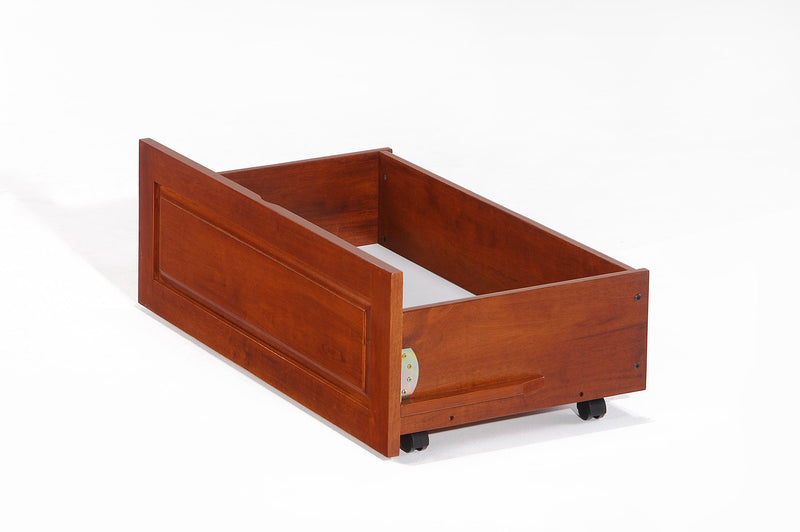Under Drawer Storage Unit in Cherry