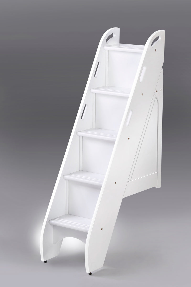 Optional Hook On Staircase for Bunk Bed in White