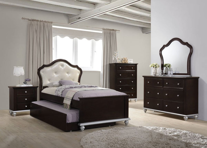 Allison bedroom set - twin size