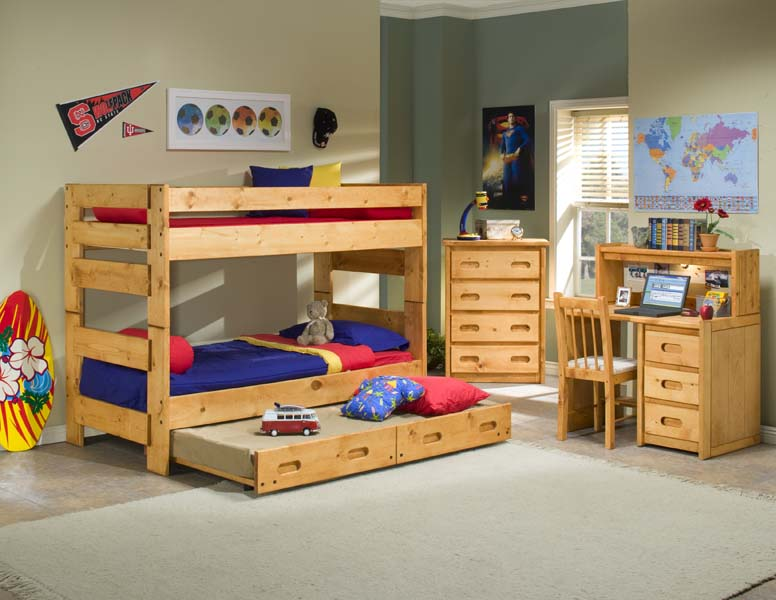 TRD Twin/Twin Bunk Bed