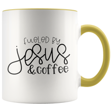 Fueled Jesus and Coffee - Mug - Adoration Apparel | Christian Shirts, Hats, for Women, Men and Toddlers