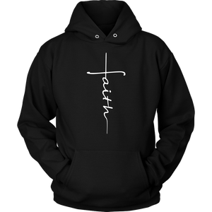 Faith Cross Shirts, Tank and Hoodies - Adoration Apparel | Christian Shirts, Hats, for Women, Men and Toddlers