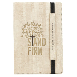 LuxLeather Stand Firm Bullet Journal- Luke 21:19 - Adoration Apparel | Christian Shirts, Hats, for Women, Men and Toddlers