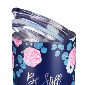 Stainless Steel Be Still and Know Travel Mug - Adoration Apparel | Christian Shirts, Hats, for Women, Men and Toddlers