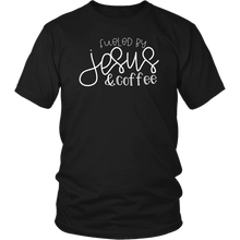 Fueled by Jesus & Coffee- shirts and hoodie - Adoration Apparel | Christian Shirts, Hats, for Women, Men and Toddlers