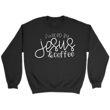 Fueled by Jesus & Coffee - Adoration Apparel | Christian Shirts, Hats, for Women, Men and Toddlers