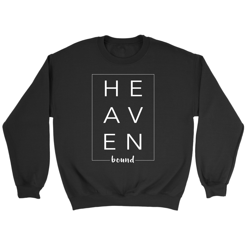 """HEAVEN BOUND""- Sweatshirt, Tee-shirts, Racerback Tank, Hoodie - Adoration Apparel 
