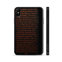 Load image into Gallery viewer, Wood Phone Case for iPhones and Samsung - John 3:16 - Adoration Apparel | Christian Shirts, Hats, for Women, Men and Toddlers