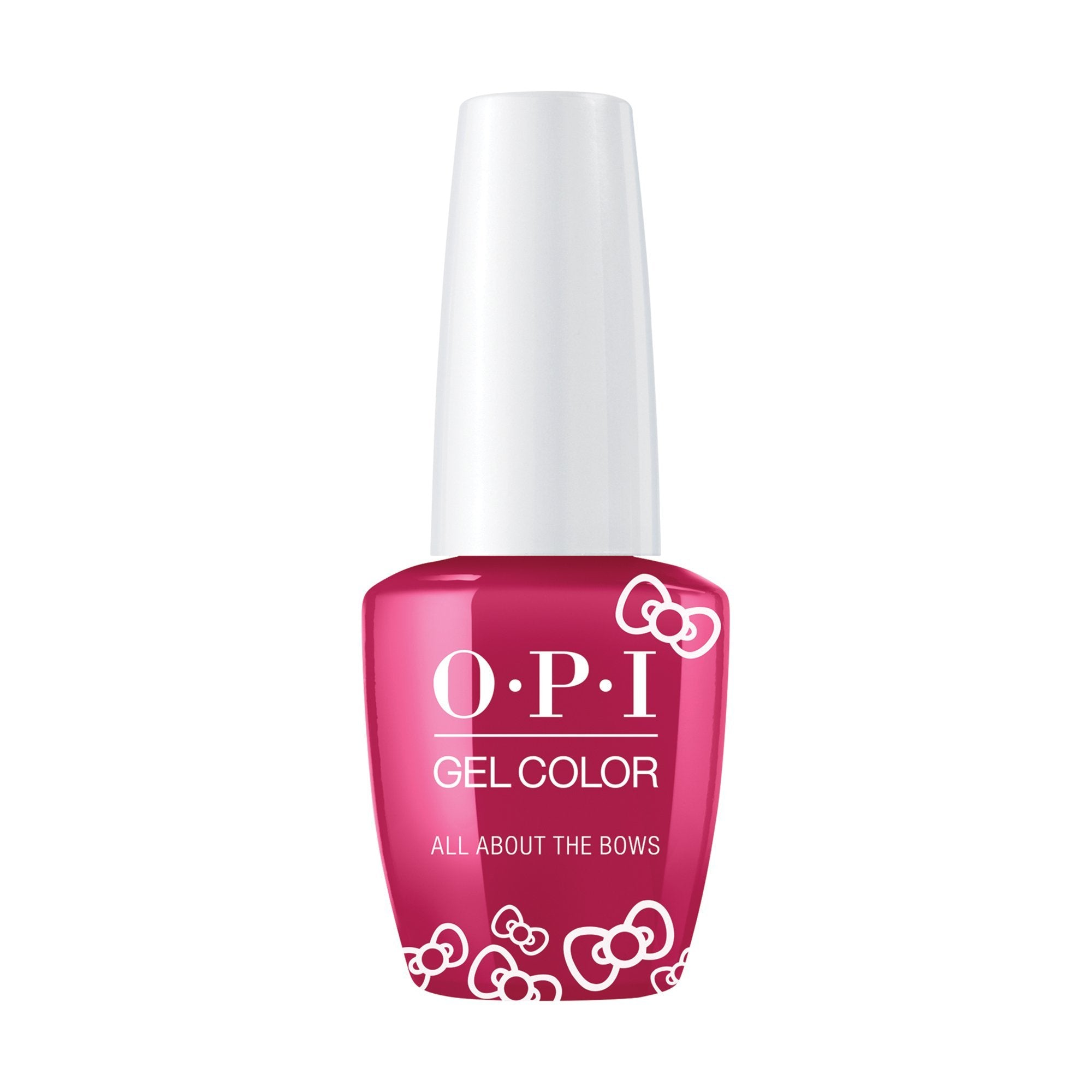 OPI, Hello Kitty GelColor All About the Bows,  0.5 fl oz