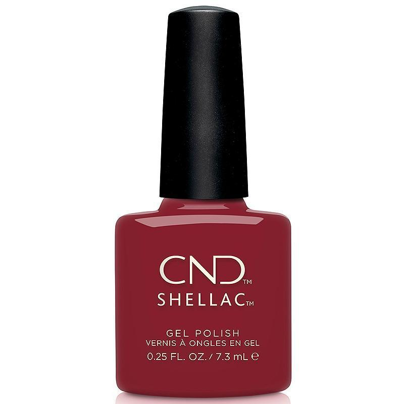 Gel Lacquer CND Shellac, Cherry Apple, 0.25 oz