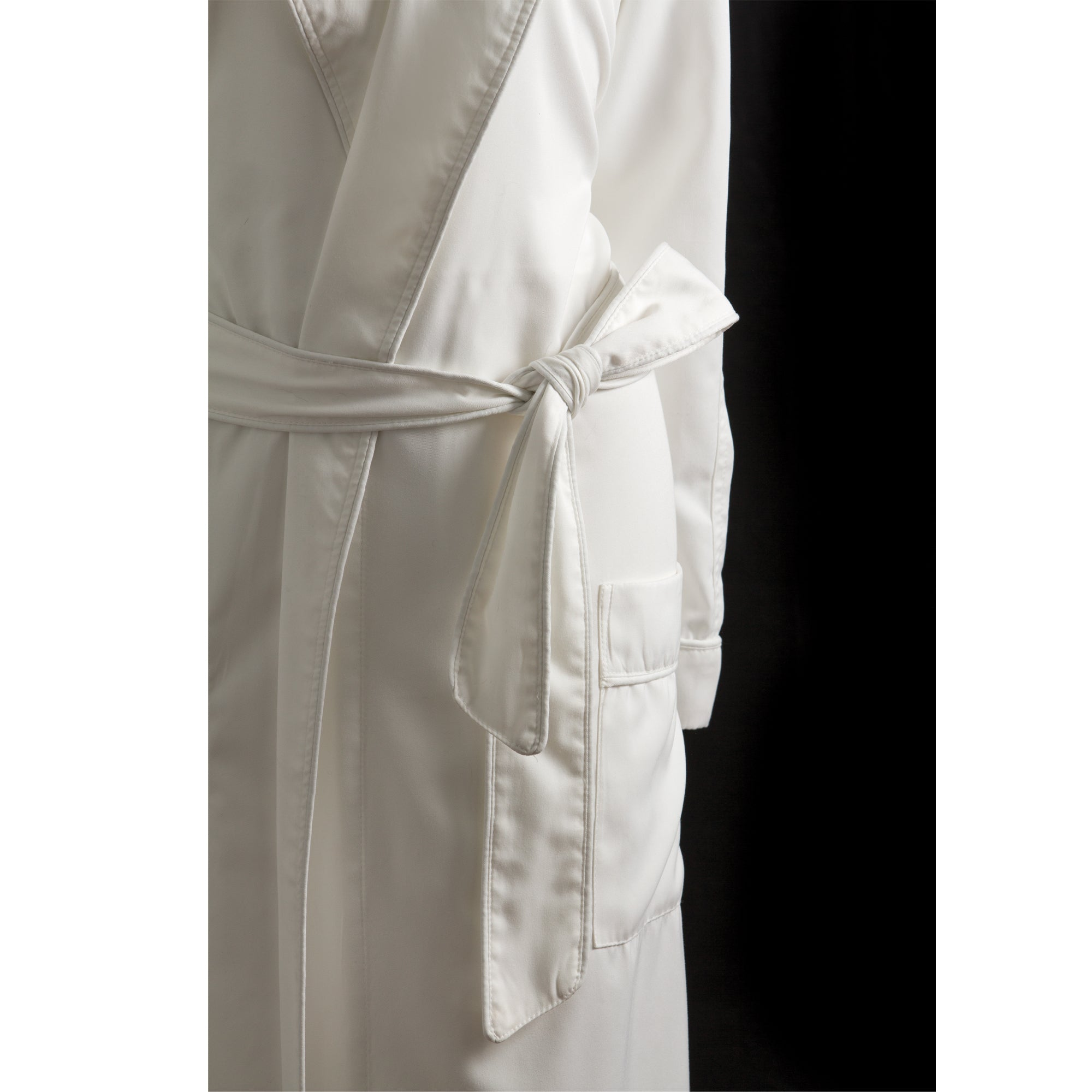 Sposh Microfiber Twill Robe with Pockets