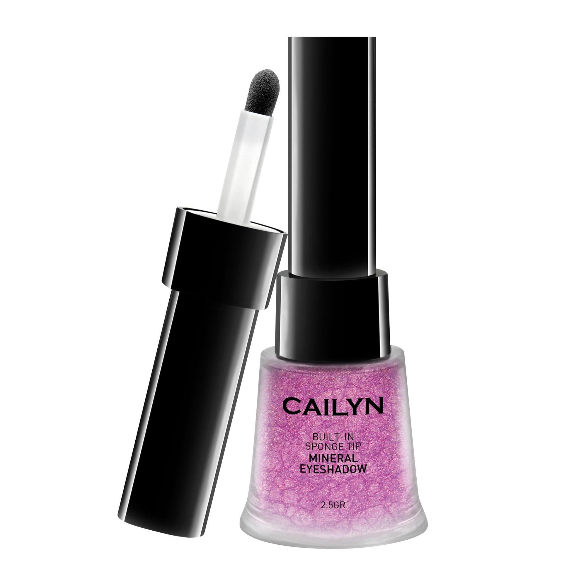 Makeup, Skin & Personal Care Creme De Violet Cailyn Mineral Eye Polish / Built-In Sponge Tip