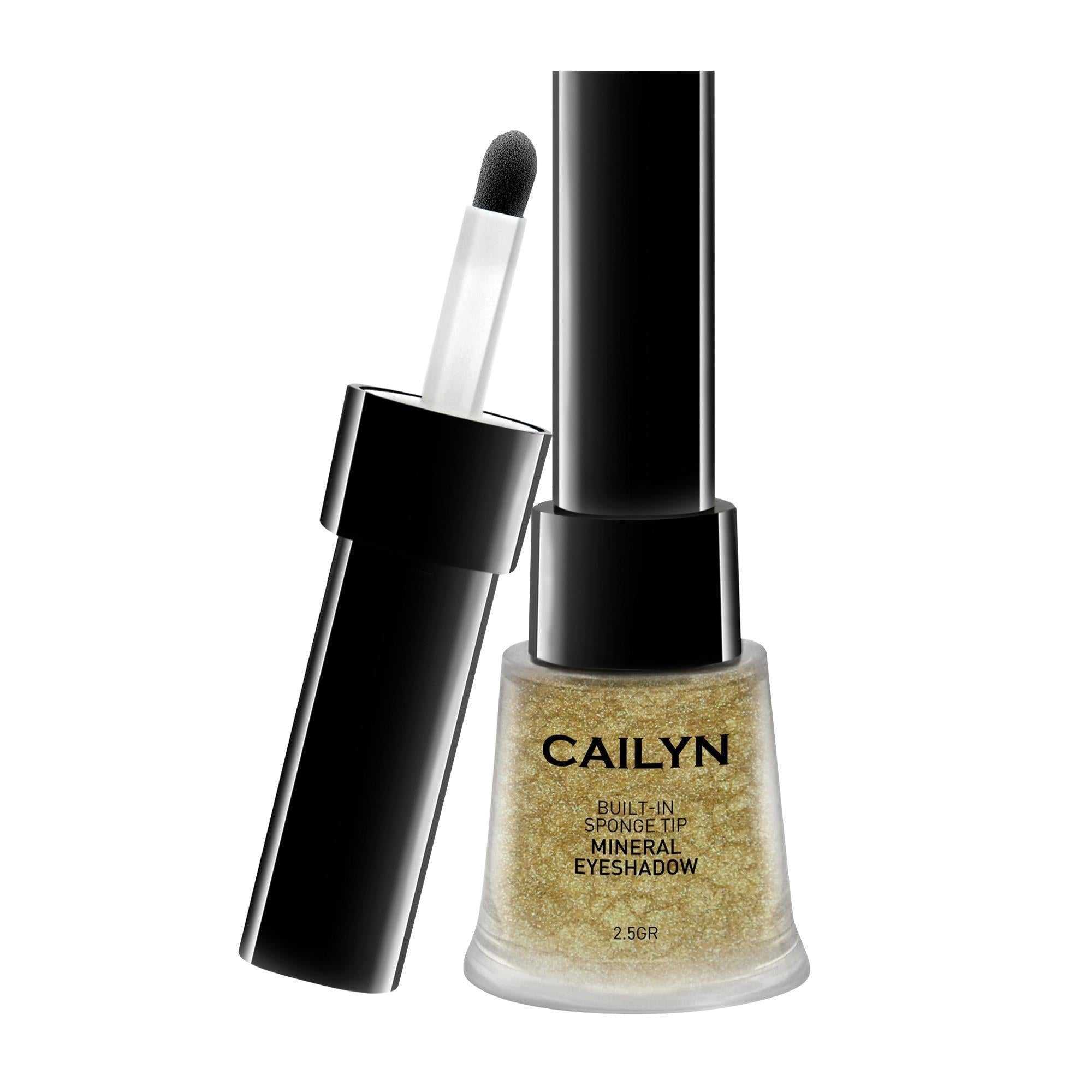 Makeup, Skin & Personal Care Khaki Cailyn Mineral Eye Polish / Built-In Sponge Tip