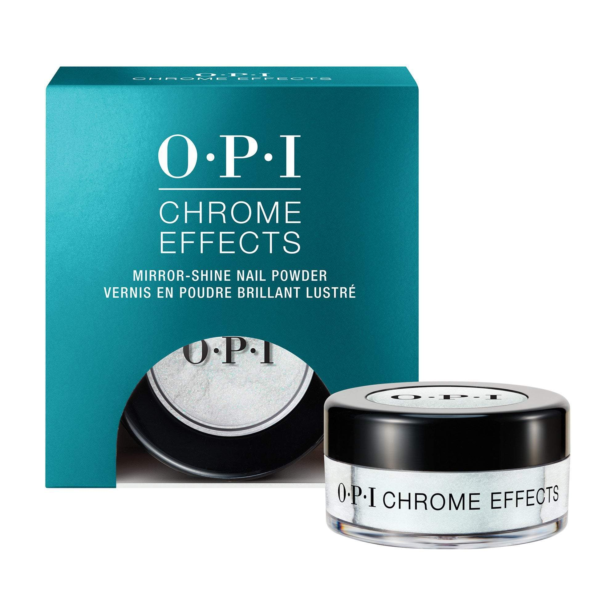 "Nail Lacquer & Polish OPI Chrome Effects - Blue ""Plate"" Special"