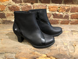 "art METROPOLITAN SHOES ""1089"" BLACK CALFSKIN"