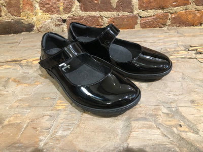 "art METROPOLITAN SHOES ""1420"" BLACK PATENT LEATHER"
