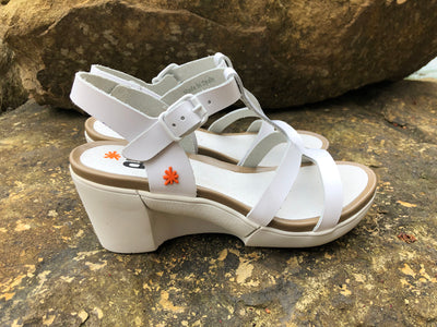 "art METROPOLITAN SHOES ""1674"" WHITE"