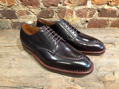Alden Norwegian Split-Toe Plaza Last in #8 Shell Cordovan