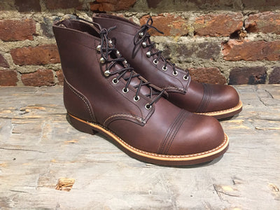 Red Wing Iron Ranger in Amber Harness Leather