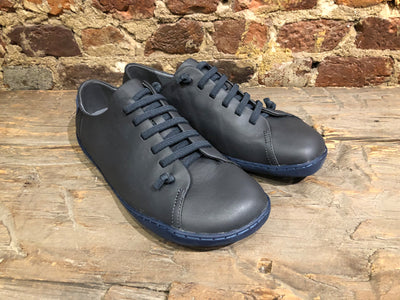 CAMPER PEU IN GRAY FULL GRAIN LEATHER