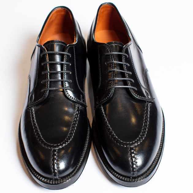 Alden Black Shell Cordovan Norwegian Split Toe