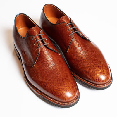 Alden Alpine Grain Plain Toe Blucher with Commando Sole