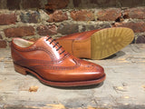 Barker Turing Wing in Rosewood Calf