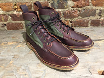Red Wing Wacouta in Briar Oil Slick Leather
