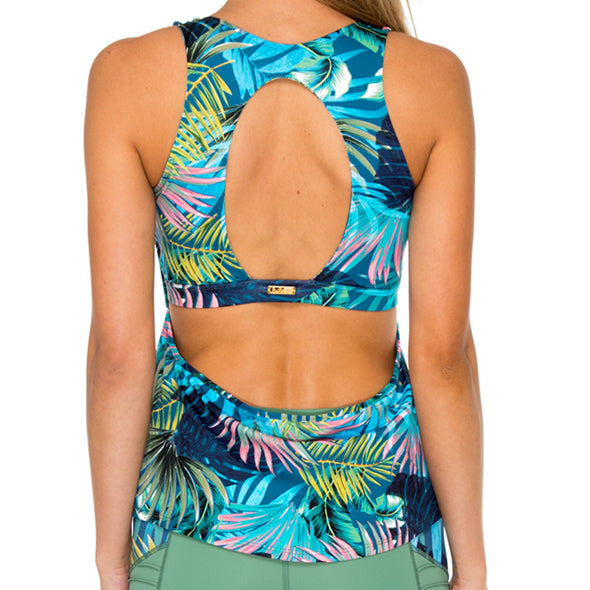 MOJITO - Inner Top Racer Back Overlay Tank Top