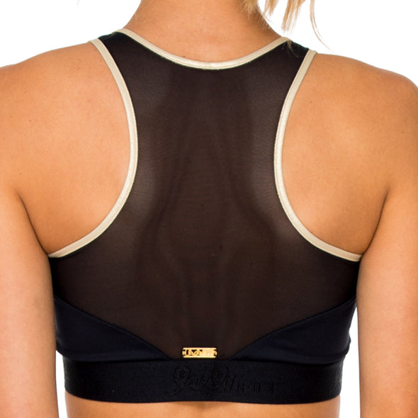 BARACOA - Elastic Band Sports Bra Top
